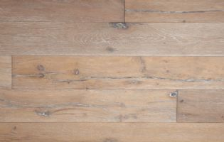 Matte Finish European Oak Style Wide Plank